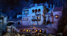 Diorama - Spooky night by CoenV, via Flickr