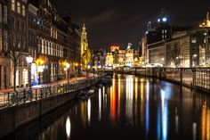 Amsterdam by night by ToreM on 500px