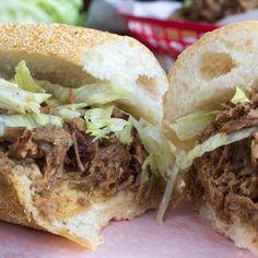 #Recipe: Slow Cooker Roast Beef Po' Boys