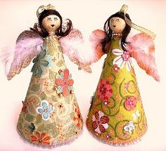 Tropical Angels   AllFreeChristmasCrafts.com