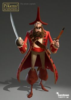 PIRATES ! band of misfits / The pirate captain - Zebe