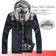 New Style Denim Jacket With Hood