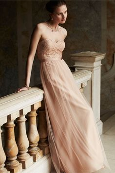 Juliette Dress in cameo pink by Jenny Yoo, exclusively for BHLDN