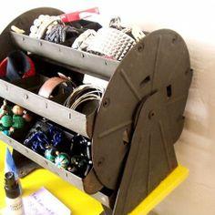 jewelry storage, craft supplies, jewelri storag, nuts, organizers, ferris wheels, jewelry organization, store jewelri, storage ideas