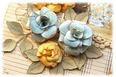 Sweet Rose tutorial using Heartfelt Creations Posy Patch PreCut Set by Emilia van den Heuvel
