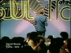David Bowie on Soul Train doing 'Fame' 1975