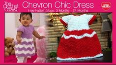 Crochet Chevron Dres