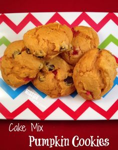 Cake Mix Pumpkin Cookies Recipe (Easy, Soft and 2 WW points)