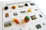 General Conference Bingo cards