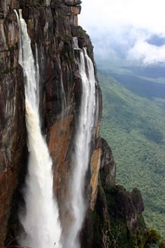 Angel Falls, Canaima National Park, #Venezuela