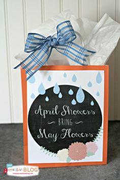 Springtime Printable | TodaysCreativeBlog.net