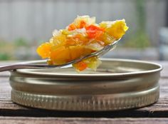 Green Tomato Chow Chow: Sweet and Sour Relish