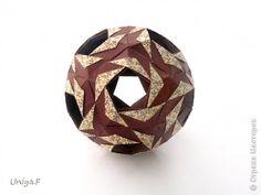 Master class Kusudama, Origami: Perla.  Tutorial.  Paper.  Photo 1