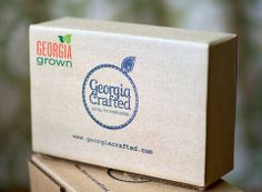 Georgia Grown has partnered with Georgia Crafted to create a special April box! Order yours: http://www.georgiacrafted.com .
