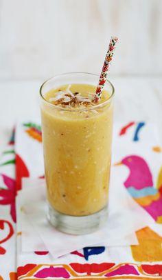 Tropical smoothie (click through for recipe)