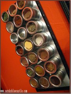 Lots of spices in a small space for RV
