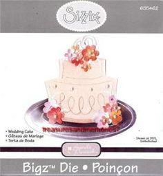 Sizzix Bigz Die Wedding Cake