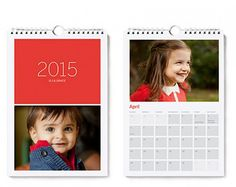 Beautiful custom photo wall calendars from Pinhole press. Nice affordable gift - just upload your pics.
