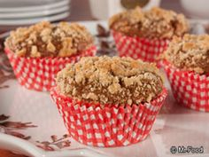 Shoofly Muffins - A cinnamon-sugar morning treat