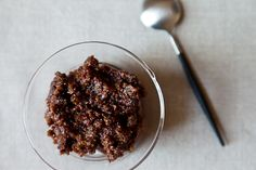 This Fig and Olive Tapenade is an easy last-minute party appetizer.