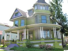 Victorian home with wrap around porch