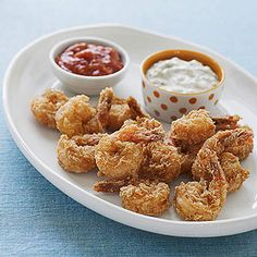 """Blair's Gluten-Free Fried Shrimp from """"Moms' Best Recipes,"""" a collection of classic dishes from our families to yours."""