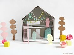 DIY Pippi Longstocking Home by La Maison de Loulou