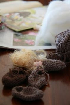 Rhythm & Rhyme: Crochet Root Babies ~ a tutorial and a giveaway