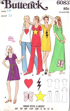 1970s Junior Petite Top Dress and Pants