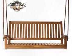 All Things Cedar Java Teak Porch Swing