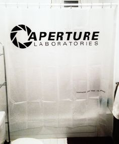 It's hard to overstate my satisfaction. Portal shower curtain.