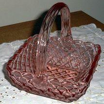 LE Smith Pink Bridal Basket