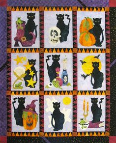 2012: Spooky Hallows BOM Quilt from Peck's Pieces