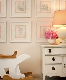 DIY Nursery Idea: Book pages as wall art!