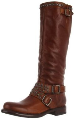 Amazon.com: FRYE Women's Jenna Studded Tall Knee-High Boot: Shoes