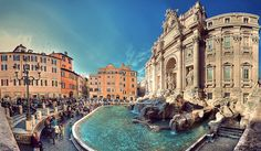 Trevi Fountain, Rome (by Lopiccolo)