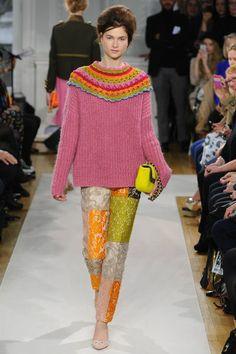 Crochet from Fashion Designer Franco Moschino #crochetdetail #crochet