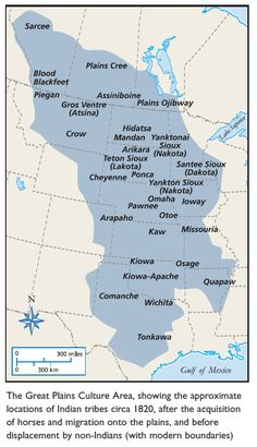 great plains culture map