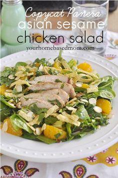 panera asian sesame chicken salad.