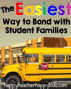 The Easiest Way to Bond with Student Families student famili