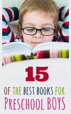 15 great books for preschool boys, so many of these are favorites in our family {What favorite book would you add to the list for your preschool boy?}