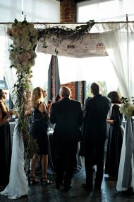Notice the Chuppah topper!  Fantastic! via @Style Me Pretty  www.themodernjewishwedding.com