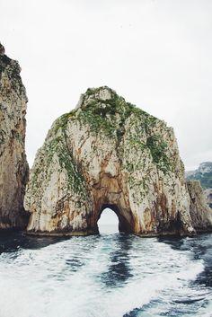 Lovers Arch, Capri, Italy.
