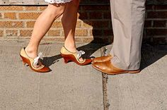 Retro style shoes for your vintage wedding