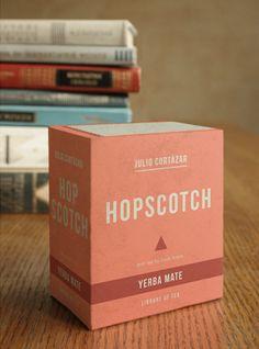 Tea library by Ooli Mos, via Behance