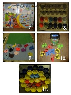 Toddler Busy Bag Activities-Month 2