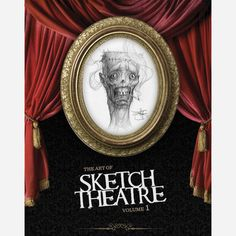 """I would've loved this, too... reminds me of the illustrator of """"Scary Stories"""" Stephen Gammell.  This book contains artwork from several artists"""