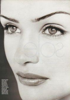 "Helena Christensen in a photo shoot for ""ELLE"" Australia magazine jan 1998......."