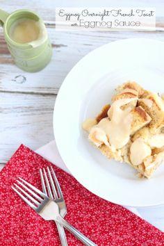 Eggnog Overnight French Toast @createdbydiane