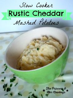 Cheddar Mashed Potatoes l The Princess & Her Cowboys #potatoes #mashed ...